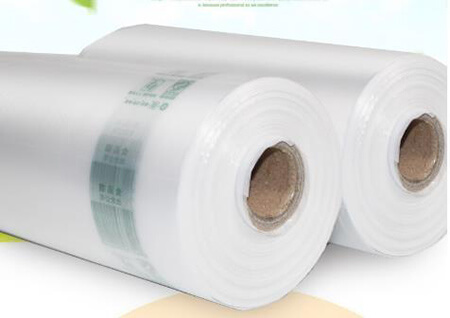 Core Plastic Bag - Application
