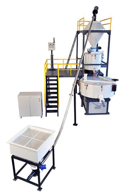 Heater Cooler Mixer Machine